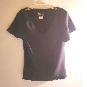 S.L Fashion Black Shirt
